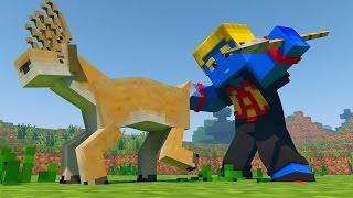 Minecraft: CAÇANDO UM VEADO! ‹ UNIVERSO REAL › #01