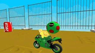 Superhero Tricky Bike Race Andriod Game