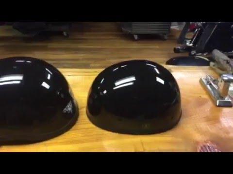Smallest lightest DOT motorcycle half helmet