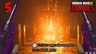 WW2 ZOMBIES - HOW TO PACK A PUNCH ROUND 5 SOLO! (Call of Duty WW2 Zombies)