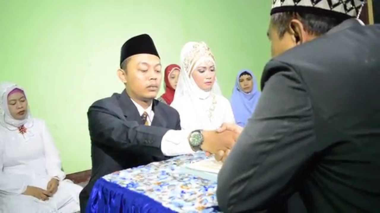 Islamic Marriage Culture in Java Indonesia  YouTube