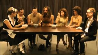Rude Mechs pre-show ritual: Queso Tasting