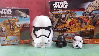 Surprise Eggs Star Wars Micro Machines Toys Review Toy