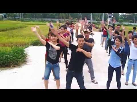 Dân vũ té nước - Flasbmob