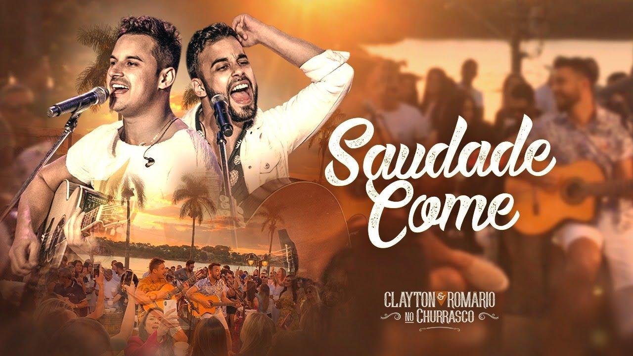 Download Clayton e Romário - Saudade Come - DVD no Churrasco