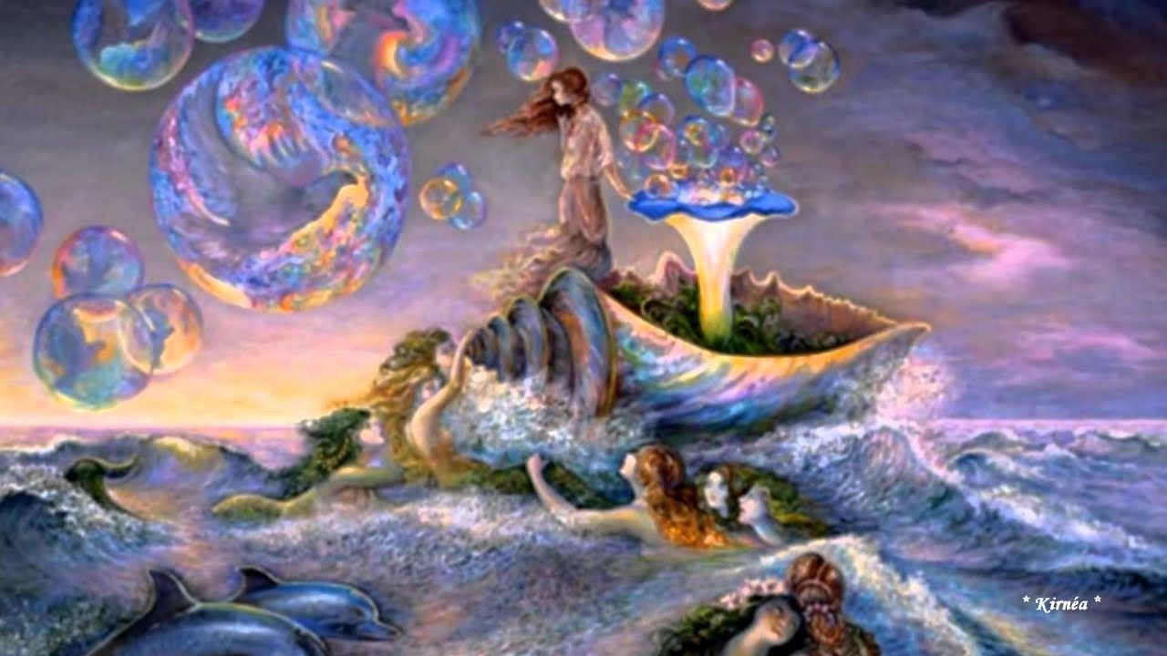 Paintings by josephine wall relaxing music youtube for Wall artwork paintings
