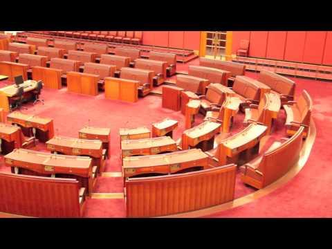 The Senate, Australian Parliament House, Canberra, ACT, Australia