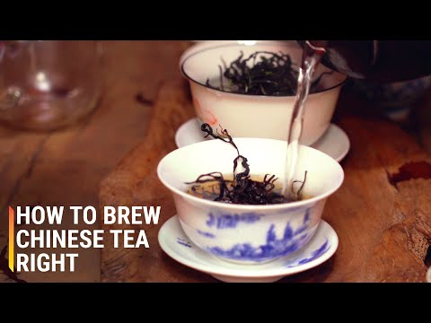 How to Brew Chinese Tea the Right Way
