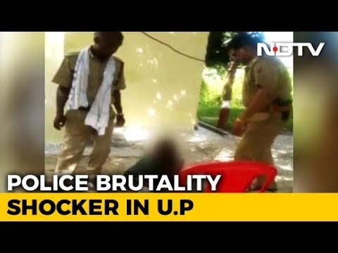 On Video, UP Cops Seen Torturing Boy Inside Police Station Compound