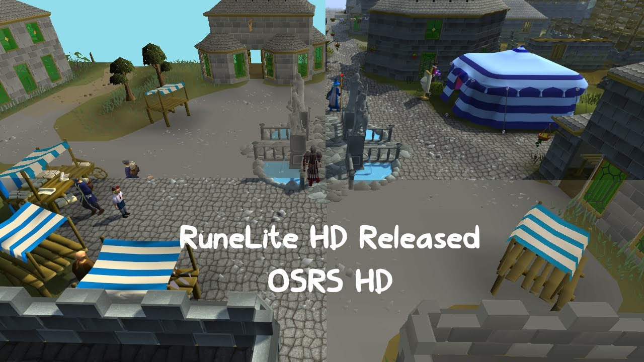 RuneLite HD Preview (OSRS HD)
