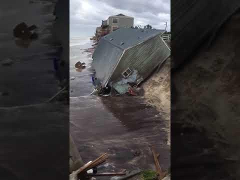 Irma Lashes Vilano Beach