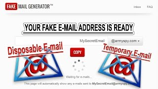 How to Create a Temporary Email Address for Website Verification [Disposable Email]✔