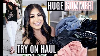 HUGE SUMMER TRY ON HAUL 2017: UO, PRETTY LITTLE THING, NORDSTROM