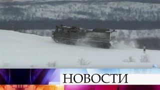 В российской армии осваивают новые снегоболотоходы.