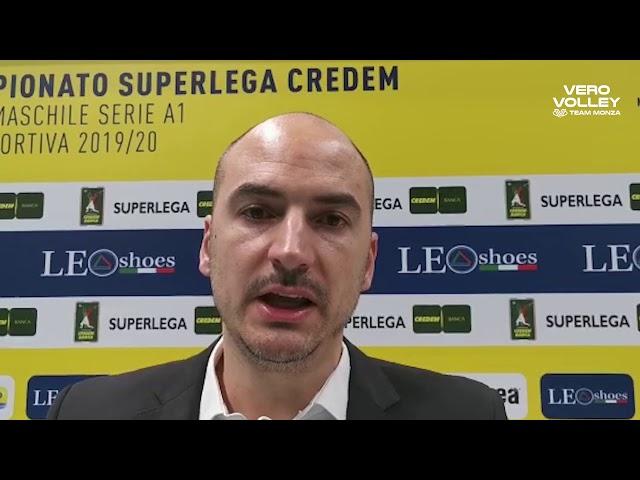 Fabio Soli post Leo Shoes Modena vs Vero Volley Monza