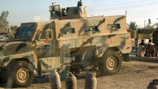 الجيش العراقي يبدأ تقدمه تجاه غرب الموصل