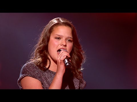 Pauline - 'Girl On Fire' | Sing-off | The Voice Kids | VTM