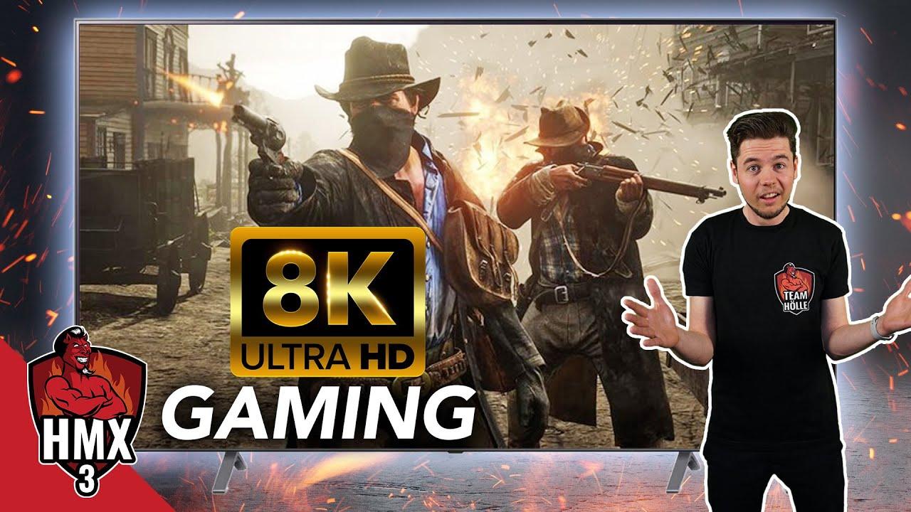 🔥😈🔥 HMX 3: 8K-Gaming auf RIESIGEM TV mit Komponenten der Höllenmaschine X3 (RTX 3090,...)