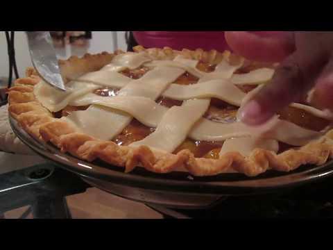 How To Bake Easy Peach Pie