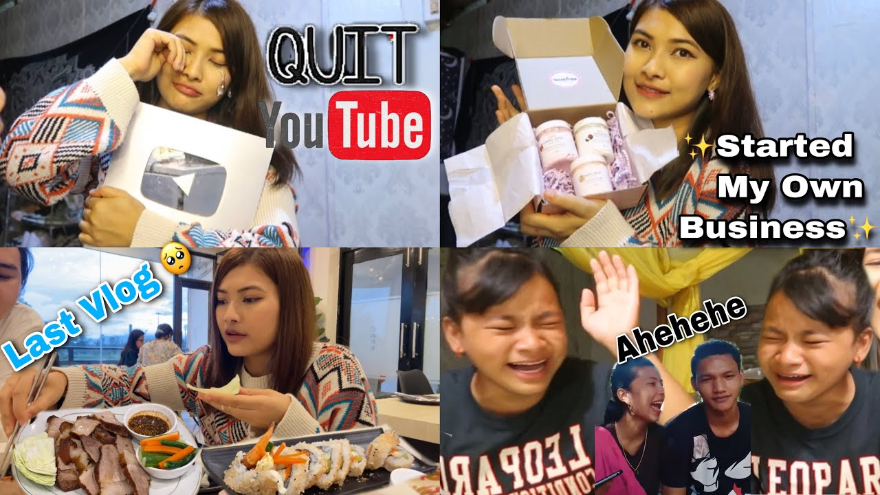 Business na marm oiraga Youtube Tokcharani😣Reacting to Viral Couple video!🤣LAST VLOG😣