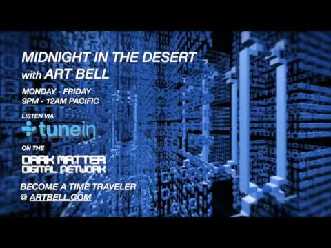 Art Bell discusses phone phreaking with Kevin Mitnick on Midnight In The Desert