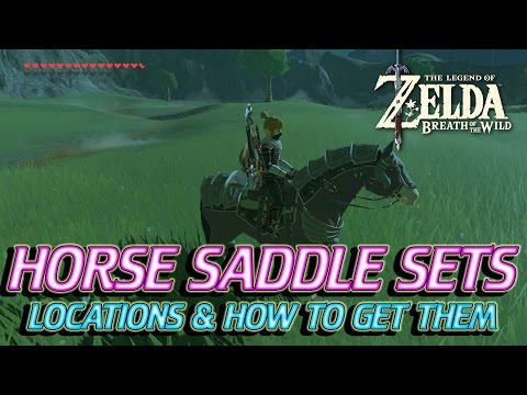 how to change your saddle in breath of the wild