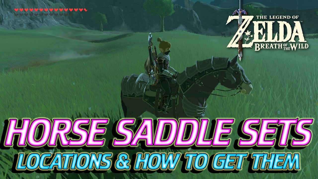 Zelda Breath Of The Wild  How To Get Saddle Sets For Your Horse
