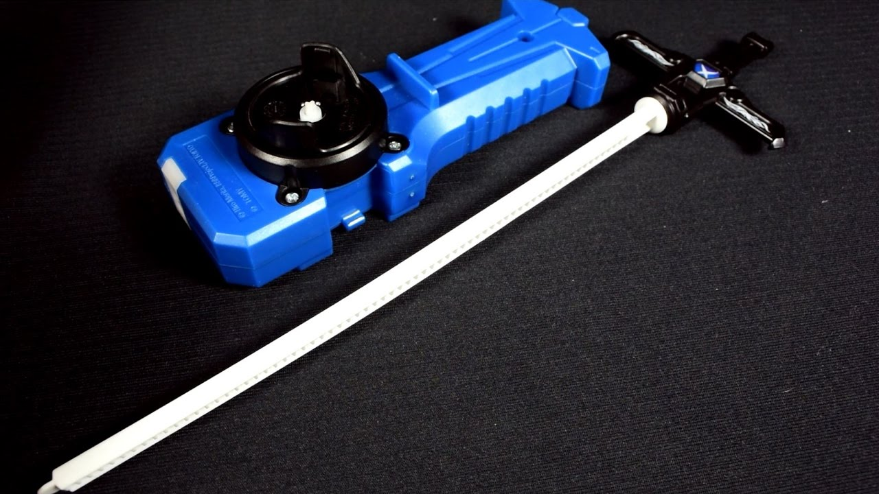 Beyblade Burst B-70 Sword Launcher BROKEN - YouTube