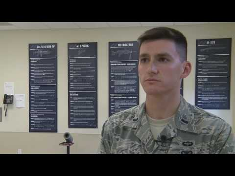 Air Force Academy Cadets Visit Security Forces