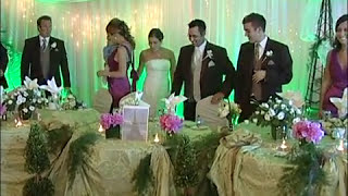 A Wedding Reception Processional Grand Entrance at Oakview Terrace Richmond Hill Ontario