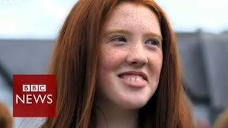 Redheads celebrate at convention in Ireland - BBC News