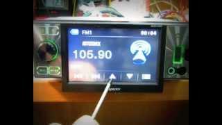 Prology DVS-1440.Настройка сенсорного экрана