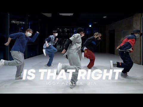 Iggy Azalea, BIA – Is That Right choreography Very