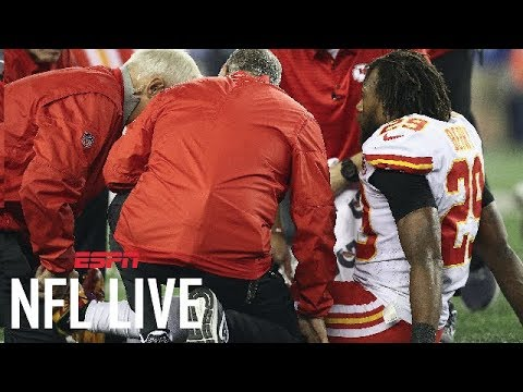 Chiefs safety Eric Berry out for season with ruptured Achilles | NFL Live | ESPN