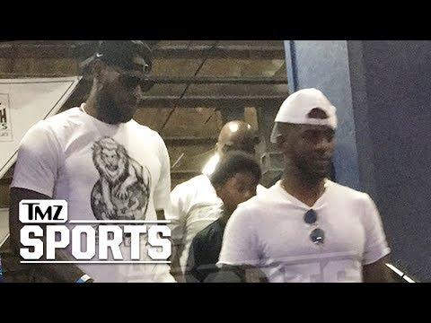 Chris Paul & LeBron James Bro Down After Rockets Trade   TMZ Sports