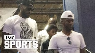 Chris Paul & LeBron James Bro Down After Rockets Trade | TMZ Sports