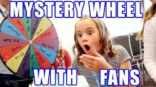 Mystery Wheel of Prizes with Fans!! Huge Surprise