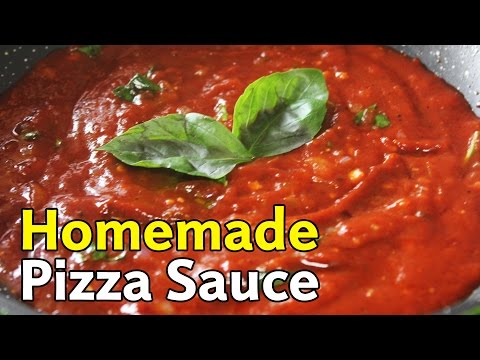 Quick & Easy Homemade Pizza Sauce Recipe