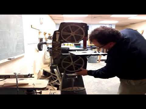 Installing a bandsaw blade youtube installing a bandsaw blade keyboard keysfo Image collections