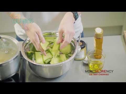 Recipe: Basil Cherry Cucumber Quinoa Salad