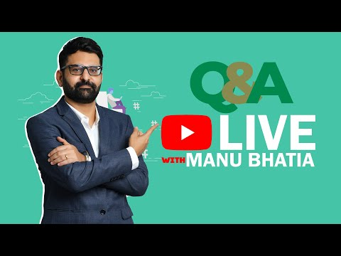 YouTube Live with @bhatiamanu