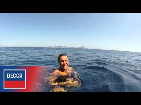 It's a long swim to the court... Cecilia Bartoli presents St Petersburg!