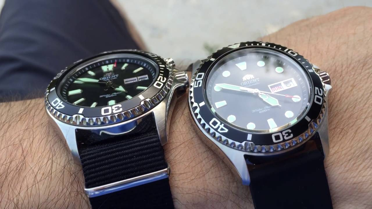 Orient Mako Usa Vs Orient Ray Ll Youtube