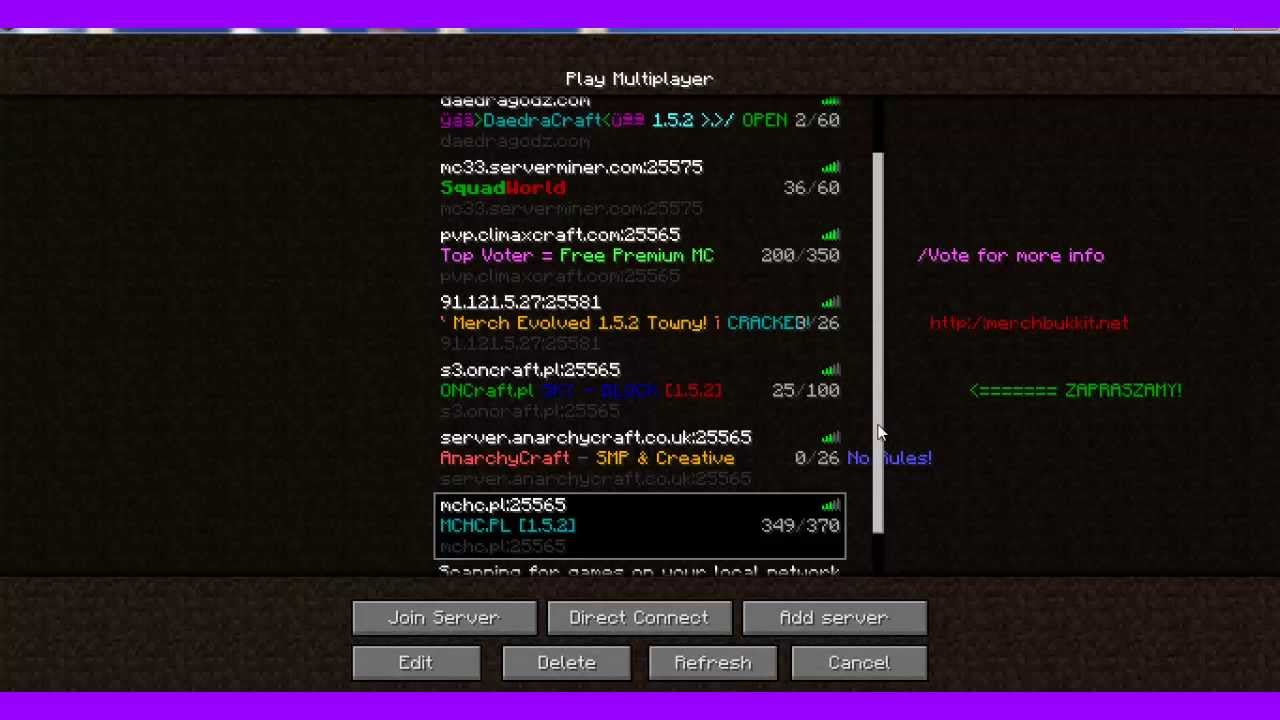games server