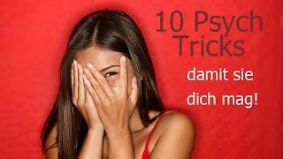 10 Psychologische Tricks, um sie Dazu zu bringen, DICH ZU MÖGEN   Wie Du extrem ATTRAKTIV wirst!