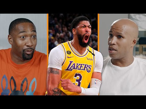 Anthony Davis Is The KEY To Defeating A Healthy Brooklyn Nets   Gilbert Arenas & Richard Jefferson