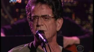 "Lou Reed - ""Caroline Says"" @ Letterman"