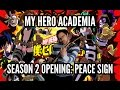 Boku No Hero Academia Opening Peace Sign 僕のヒーローアカデミアピースサイン Guitar Cover Jparecki95 mp3
