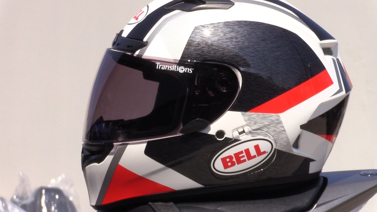 Bell Motorcycle Helmet >> Bell Helmets Qualifier DLX MIPS Full Face Motorcycle Helmet Review - YouTube
