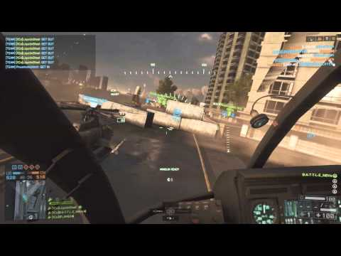 BattleNative-HD- Meeting Head on with RaptureReady #1 scout heli in world on ps4 on dawnbreaker pub